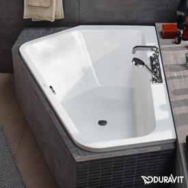 Duravit Paiova 5 Raumspar-Badewanne, Einbauversion