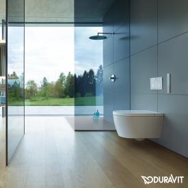 Duravit SensoWash® Starck f Plus Compact Dusch-WC, mit WC-Sitz