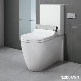Duravit Starck 2 Stand-Tiefspül-WC Kombination für SensoWash® weiß