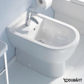 Duravit Starck 3 Stand-Bidet L weiß mit 1 Hahnloch mit Überlauf