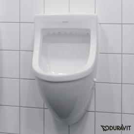 Duravit Starck 3 Urinal, Zulauf hinten weiß