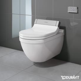 Duravit Starck 3 Wand-Tiefspül-WC für SensoWash®, verlängerte Ausführung weiß mit WonderGliss