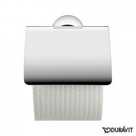 Duravit Starck T Papierrollenhalter mit Deckel chrom
