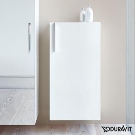 Duravit Vero Halbhochschrank mit 1 Tür weiß hochglanz