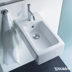 Duravit Vero Handwaschbecken weiß, mit WonderGliss
