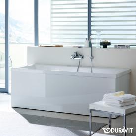 Duravit Vero Rechteck-Badewanne, Einbauversion oder Wannenverkleidung, mit Rückenschräge rechts