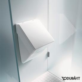Duravit Vero Urinal, Zulauf hinten für Deckel, weiß mit WonderGliss