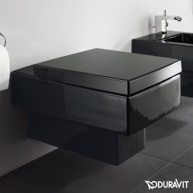 Duravit Vero Wand-Tiefspül-WC schwarz, mit WonderGliss