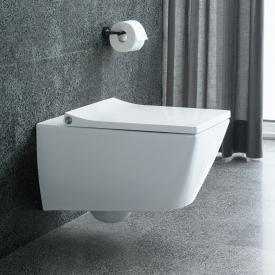 Duravit Viu Wand-Tiefspül-WC mit WC-Sitz, ohne Spülrand weiß, mit WonderGliss