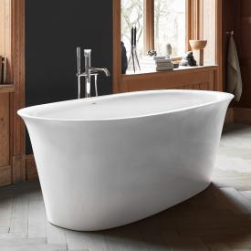 Duravit White Tulip Freistehende Oval-Badewanne