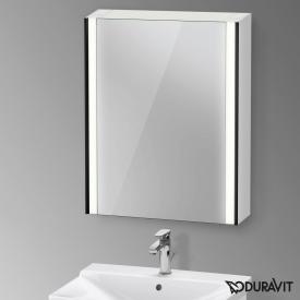 Duravit XViu Spiegelschrank mit LED-Beleuchtung, Sensor Version schwarz matt