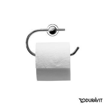 Duravit D-Code Papierrollenhalter chrom