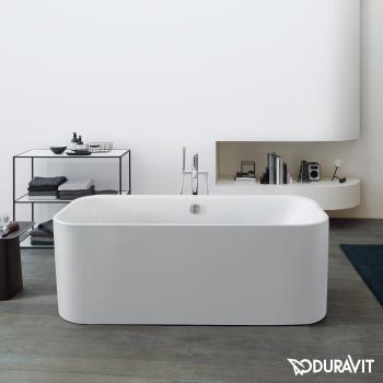 Duravit Happy D.2 Plus freistehende Oval Badewanne mit Verkleidung