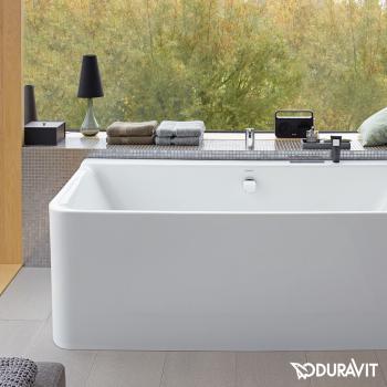 Duravit P3 Comforts Eck-Badewanne mit Verkleidung, Eckeinbau rechts
