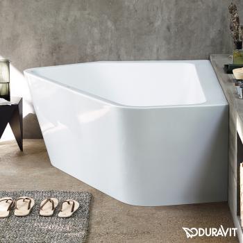 Duravit Paiova 5 Eck-Badewanne mit Verkleidung, Eckeinbau links