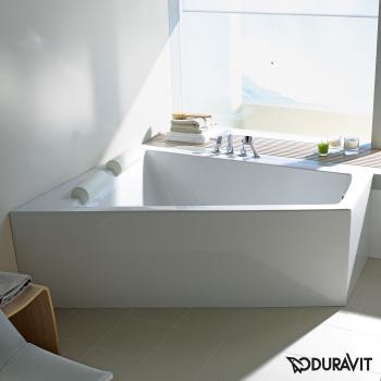 Duravit Paiova Eck-Badewanne mit Verkleidung, Eckeinbau links