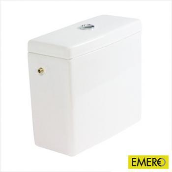 Duravit Starck 3 Spülkasten für Aufsatzmontage weiß mit WonderGliss, Anschluss links/rechts/mittig