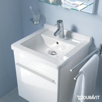 Duravit Starck 3 Waschtisch weiß, mit 1 Hahnloch, ungeschliffen