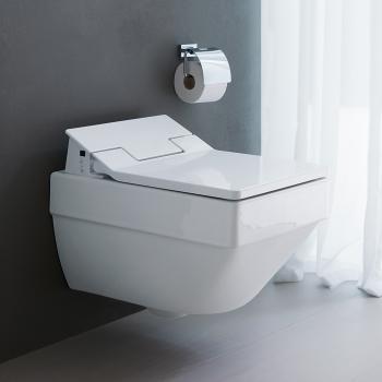 Duravit Vero Air Wand-Tiefspül-WC, rimless weiß, mit WonderGliss