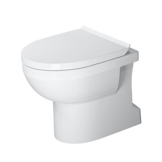 Duravit DuraStyle Basic Stand-Tiefspül-WC Set, rimless, mit WC-Sitz weiß, mit WonderGliss