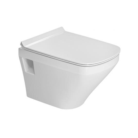 Duravit DuraStyle Wand-Tiefspül-WC Compact ohne Spülrand, weiß, mit WonderGliss