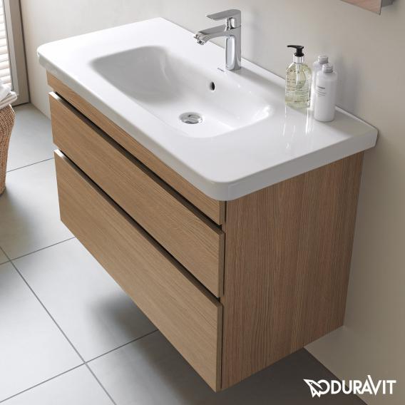 Duravit DuraStyle Waschtischunterschrank mit 2 Auszügen Front europäische eiche / Korpus europäische eiche