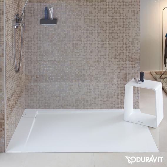 Duravit P3 Comforts Rechteck-Duschwanne, Ecke links