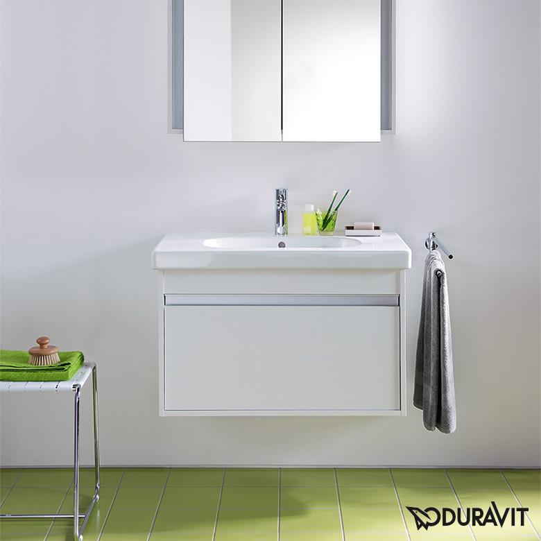 Relativ Duravit Ketho Waschtischunterschrank inkl. D-Code Waschtisch VE72