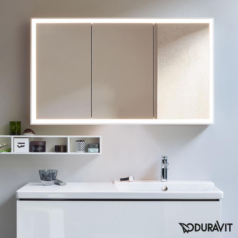 Duravit L Cube Spiegelschrank Mit Led Beleuchtung Ohne