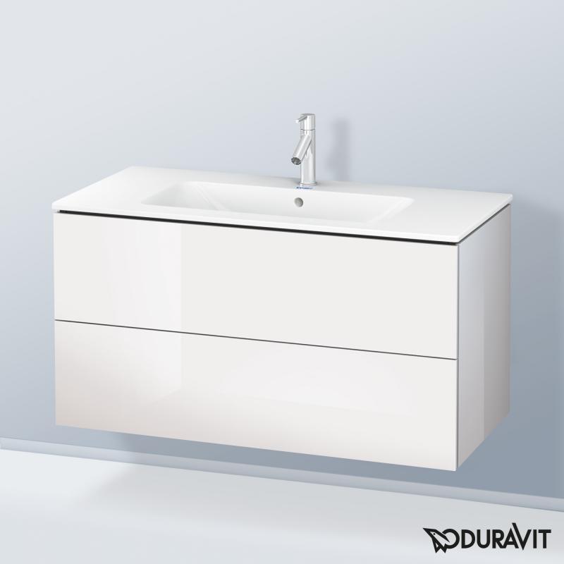 Duravit ME by Starck Waschtisch mit L-Cube Waschtischunterschrank ...