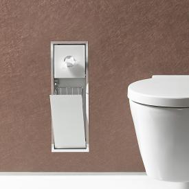 Emco Asis Unterputz-Hygienebeutel/Abfallsammler-Modul chrom/optiwhite