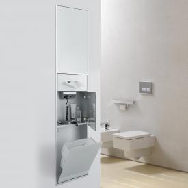 Emco Asis Unterputz-Kosmetikmodul optiwhite/aluminium