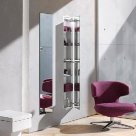 Emco Asis Unterputz-Schrankmodul mit Spiegeltür verspiegelt/aluminium