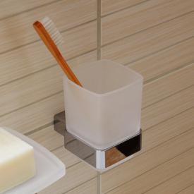 Emco Loft Glashalter mit Glas chrom