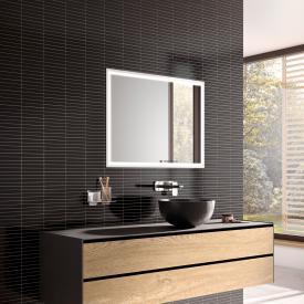 Emco Prestige 2 Unterputz-Lichtspiegelschrank breite Tür links, mit light system