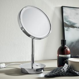 Emco Pure LED Rasier- und Kosmetikspiegel, Standmodell