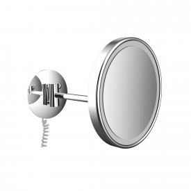 Emco Universal LED-Rasier- und Kosmetikspiegel, rund, Wandmodell