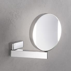 Emco Universal LED Rasier- und Kosmetikspiegel mit Direktanschluss chrom