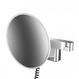 Emco Universal LED Rasier- und Kosmetikspiegel mit Spiralkabel und Stecker