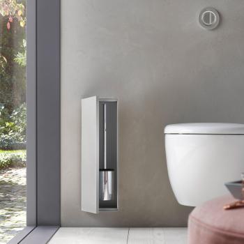 Emco Asis Plus Unterputz-Toilettenbürstengarnitur-Modul