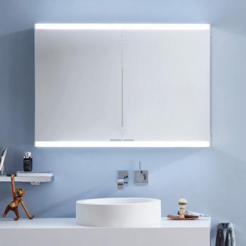 Emco Evo Aufputz Spiegelschrank mit LED-Beleuchtung