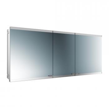 Emco Evo Unterputz Spiegelschrank mit LED-Beleuchtung mit light system