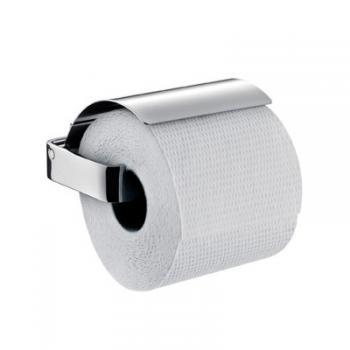 Emco Loft Papierhalter mit Deckel edelstahl look