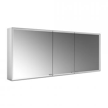 Emco Prestige 2 Aufputz-Lichtspiegelschrank mit 3 Türen
