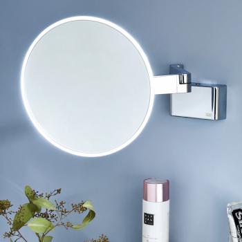 Emco Universal LED Rasier- und Kosmetikspiegel mit Direktanschluss