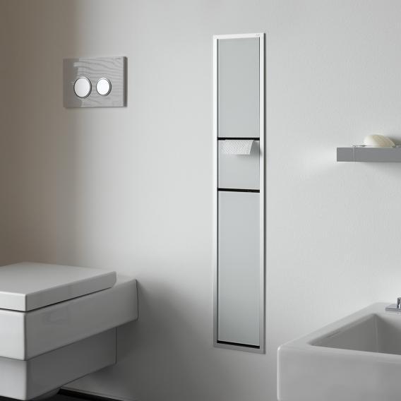 Emco Asis Unterputz-Gäste-WC-Modul optiwhite/aluminium