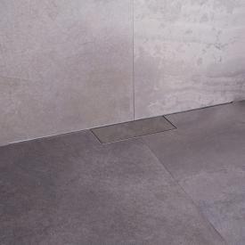 ESS M-Line Duschrinnen-Komplettset inklusive Abdeckung L: 100 cm