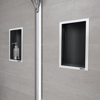 ESS Container Rahmen poliert schwarz