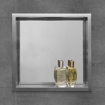 ESS Container BOX 10 Wandnische mit Spiegel, für Nass-/Trockenbau