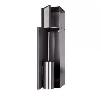 ESS Container T-ROLL Einbau WC-Bürstenhalter und Nische anthrazit